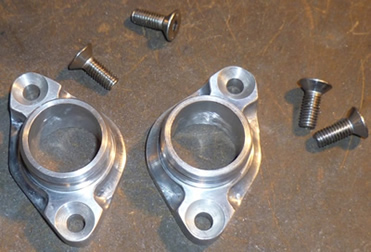 Custom inlet manifolds made for World's quickest 4 stroke 125cc motorcycle